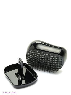 Расческа с крышкой Компакт Стайлер Грумер хром Tangle Teezer. Цвет: серый