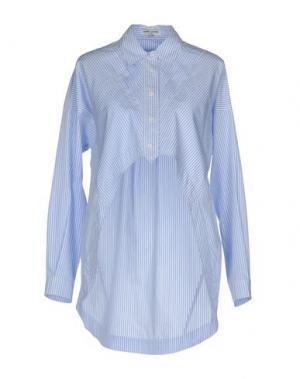 Pубашка OPENING CEREMONY. Цвет: небесно-голубой