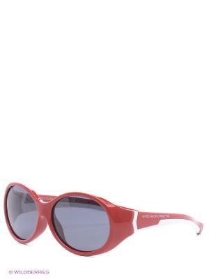 Солнцезащитные очки BB 595S 02 United Colors of Benetton. Цвет: бордовый