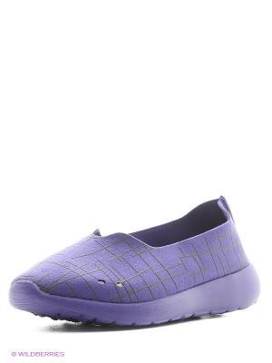 Слипоны Tesoro. Цвет: фиолетовый