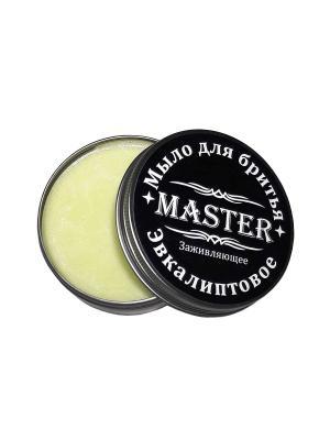 Мыло для бритья Эвкалиптовое, 80 гр. MASTER. Цвет: зеленый