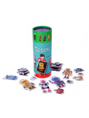 Настольная игра Роботы THE PURPLE COW. Цвет: черный, голубой, зеленый, красный