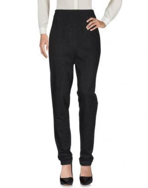 Повседневные брюки PF PAOLA FRANI. Цвет: стальной серый
