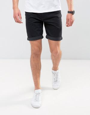 Kiomi Джинсовые шорты. Цвет: черный