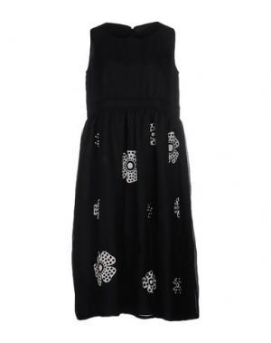 Платье длиной 3/4 JUPE BY JACKIE. Цвет: черный