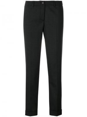 Укороченные брюки Fabiana Filippi. Цвет: чёрный