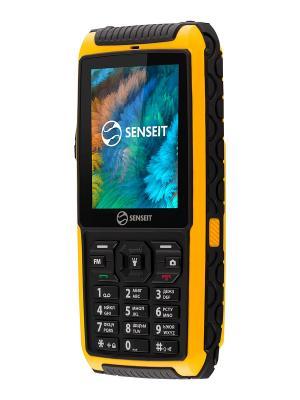 Телефон SENSEIT P101. Цвет: желтый