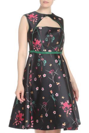 Платье Isabel Garcia. Цвет: dark navy, flowers print