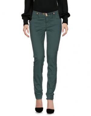 Повседневные брюки JECKERSON. Цвет: темно-зеленый