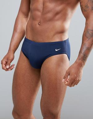 Nike Swimming Темно-синие плавки NESS4030-440. Цвет: темно-синий