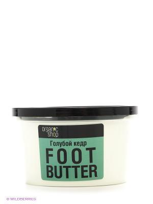 Масло для ног Голубой кедр Organic Shop. Цвет: светло-зеленый