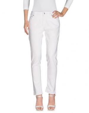 Джинсовые брюки DEPARTMENT 5. Цвет: белый