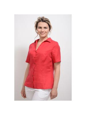 Блуза Александрина LINO RUSSO. Цвет: малиновый