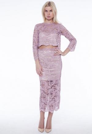 Костюм Batista Fashion. Цвет: розовый