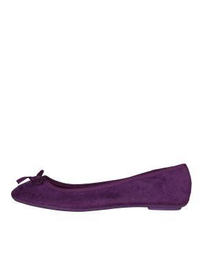 Балетки Colin's. Цвет: фиолетовый