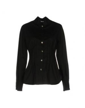 Pубашка OBLIQUE CREATIONS. Цвет: черный