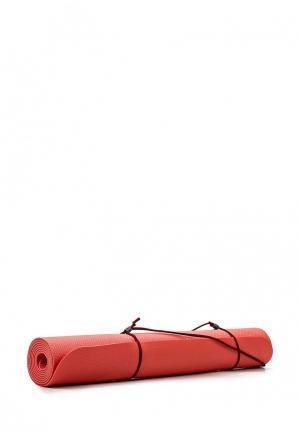 Коврик для йоги Nike. Цвет: коралловый