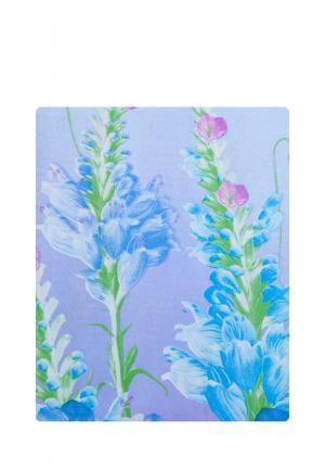 Комплект постельного белья Евро La Pastel. Цвет: голубой