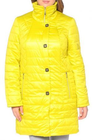 Пальто MONTSERRAT. Цвет: желтый