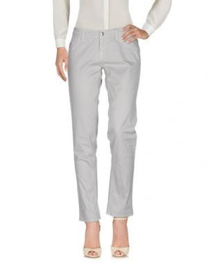 Повседневные брюки HOGAN. Цвет: серый