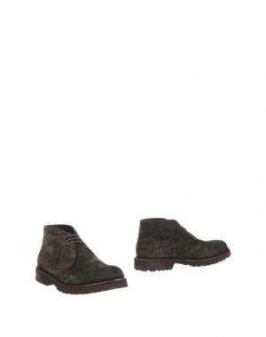 Полусапоги и высокие ботинки SEBOY'S. Цвет: темно-зеленый