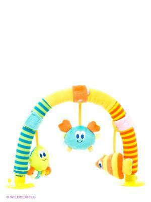 Рзвивающая игрушка Дуга морские обитатели Amico. Цвет: желтый, синий, бирюзовый