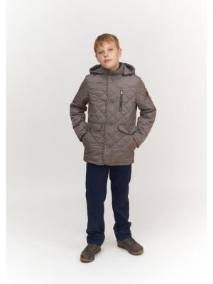 Куртка для мальчика AVESE. Цвет: светло-коричневый