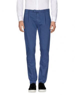 Повседневные брюки BRIGLIA 1949. Цвет: пастельно-синий