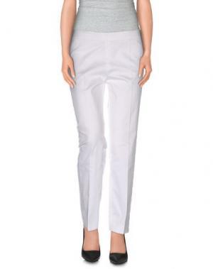 Повседневные брюки JEAN PAUL GAULTIER FEMME. Цвет: белый