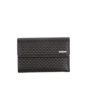 Бумажник SERAPIAN. Цвет: темно-коричневый