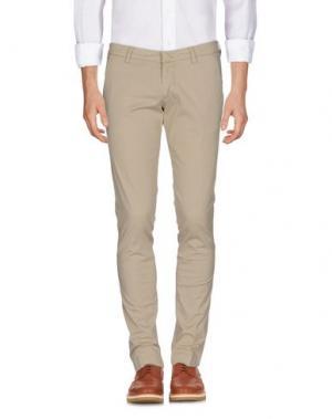 Повседневные брюки FRADI. Цвет: бежевый