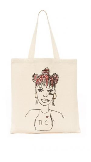 Объемная сумка с короткими ручками и изображением Лизы «Лефт Ай» Zhuu
