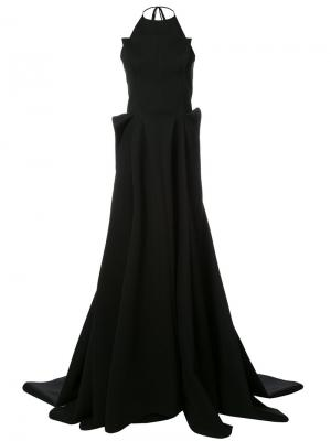 Вечернее платье Maticevski. Цвет: чёрный