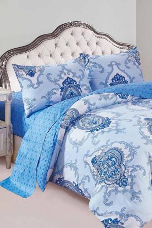 Постельное белье дуэт, 70x70 Patrizia. Цвет: голубой