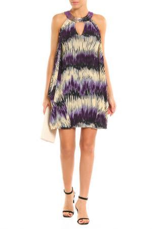Платье Aftershock. Цвет: blue multi