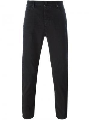 Прямые брюки чинос Pence. Цвет: чёрный