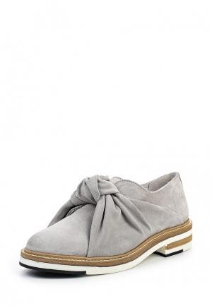 Ботинки Bronx. Цвет: серый
