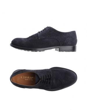 Обувь на шнурках CANTARELLI. Цвет: темно-синий