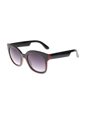 Солнцезащитные очки Gusachi. Цвет: черный, красный, серый