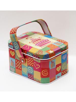 Коробка для безделушек и мелочей Свадебный торт Magic Home. Цвет: розовый