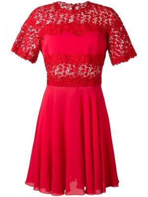 Расклешенное платье Giambattista Valli. Цвет: none