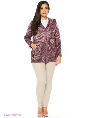 Куртка Milana Style. Цвет: розовый