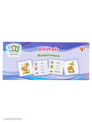 Коллекция карточек. Животные. Animals Феникс-Премьер. Цвет: фиолетовый, сиреневый