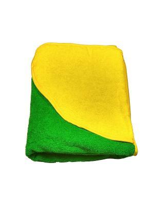 Полотенце-уголок Baby Swimmer. Цвет: зеленый