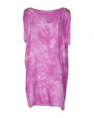 Короткое платье MONICA •LENDINEZ. Цвет: фуксия