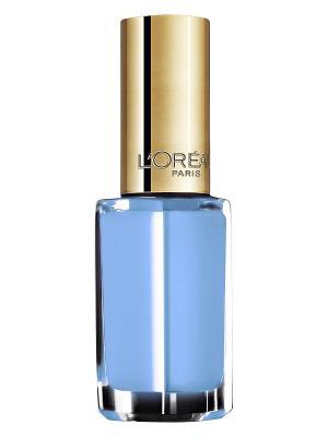 Лак для ногтей Color Riche, оттенок 241, Мне бы в небо, 5 мл L'Oreal Paris. Цвет: голубой