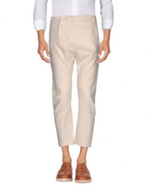 Повседневные брюки CHOICE NICOLA PELINGA. Цвет: слоновая кость