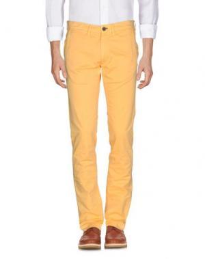 Повседневные брюки MASON'S. Цвет: охра