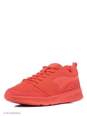 Кроссовки KangaROOS. Цвет: красный