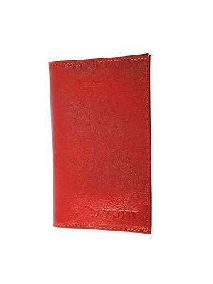 Обложка паспорта Forte. Цвет: красный